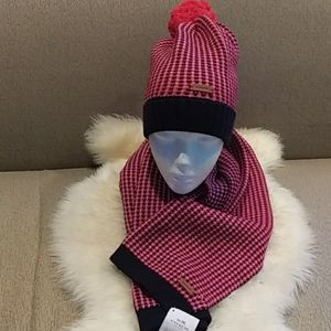 Coach scarf & hat set
